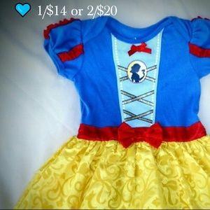  1/$14 or 2/$20 Disney's Snow-white tutu outfit